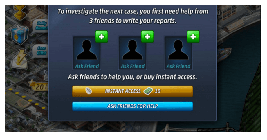daily quest - criminal case