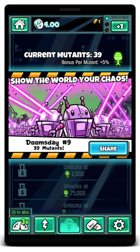 doomsday clicker referral campaign