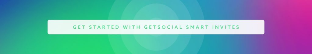 getsocial smart invites cta