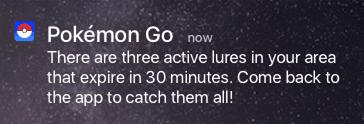 pokemongo push notifications