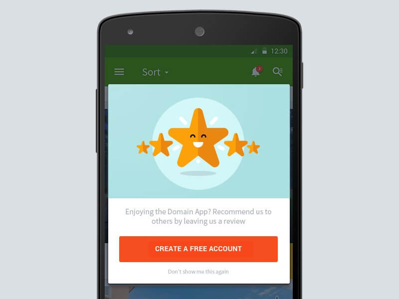 get app ratings