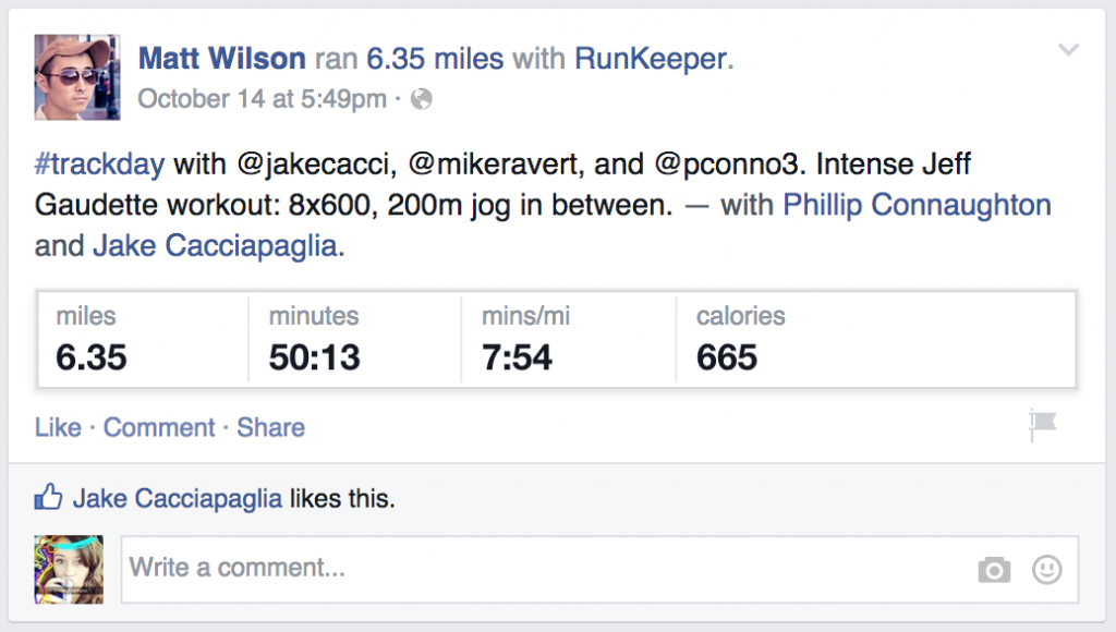 Runkeeper-app-social-media-share