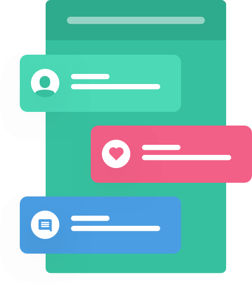 Social push notifications